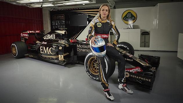 Carmen Jordà, piloto de desarrollo de Lotus