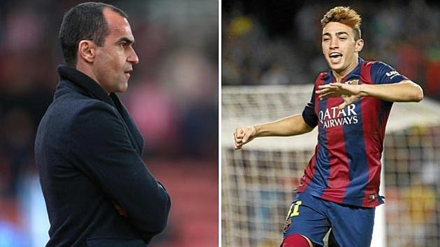 Roberto Mart�nez lining up Munir loan move