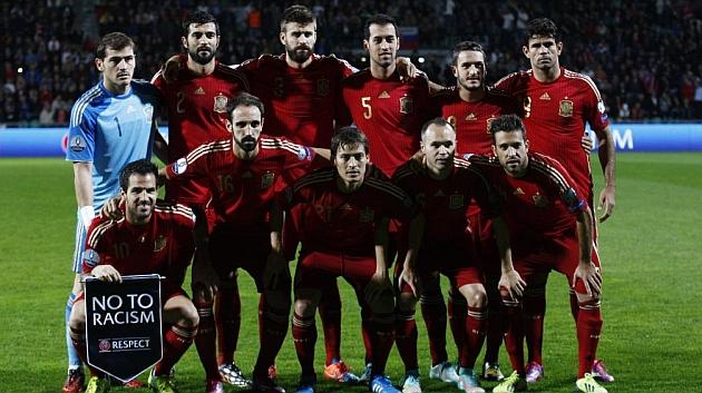 España-Inglaterra, amistoso el 14 de noviembre