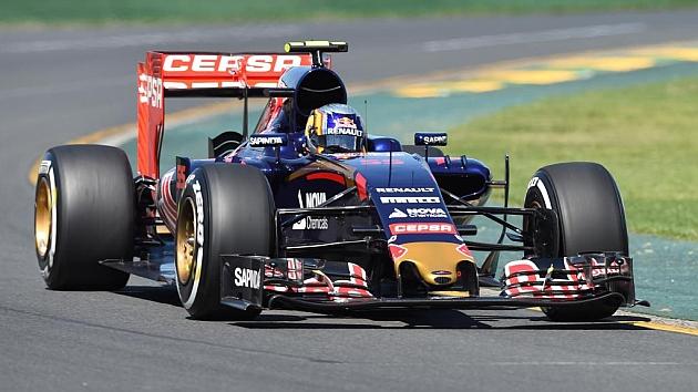 Carlos Sainz, brillante y por delante de Verstappen