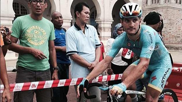 El italiano Guardini, vencedor de la última etapa. Foto: Instagram del tour