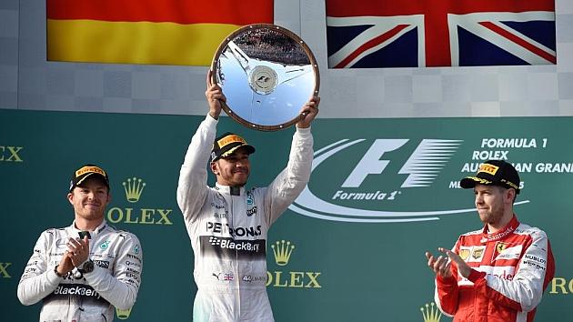 Hamilton: Una carrera impecable, la tasa del éxito fue del cien por cien