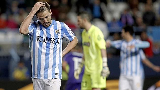Camacho durante un partido de Liga frente al Espanyol. Foto: PEPE ORTEGA