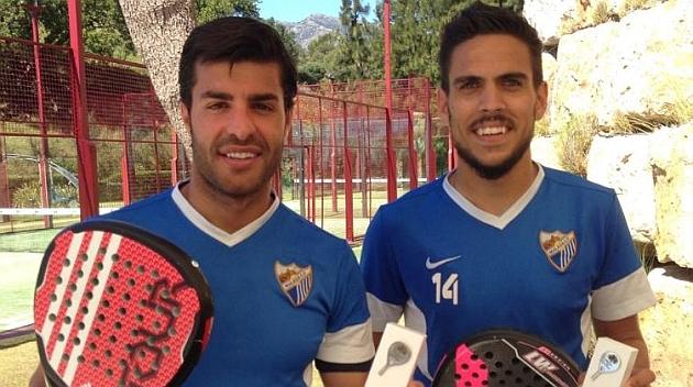 El Málaga disfruta una jornada de pádel con victoria de la pareja formada por Torres y Recio