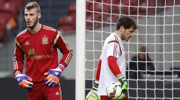 De Gea: I'm not about to succeed Iker. He remains first choice