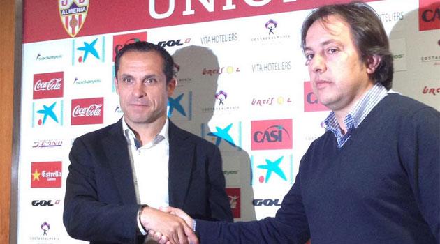 Sergi Barjuan named new Almería coach
