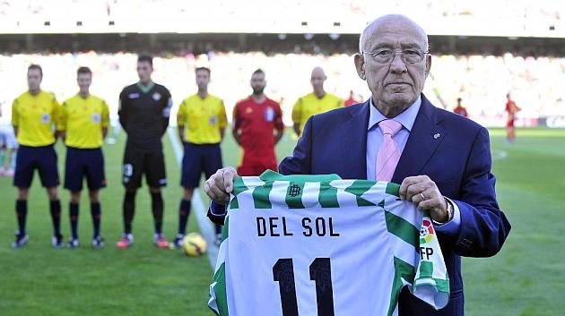 Luis del Sol, en su último homenaje | Foto: Ramón Navarro