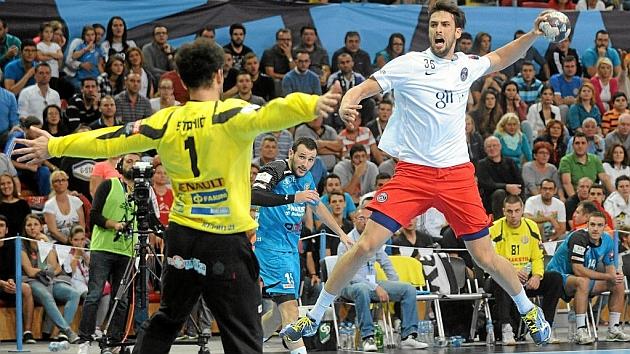 Marko Kopljar en un partido con el PSG. Foto: AFP
