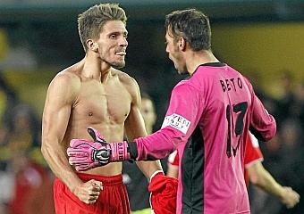 El Sevilla continúa la preparación del partido con el Zenit sin Carriço en el grupo