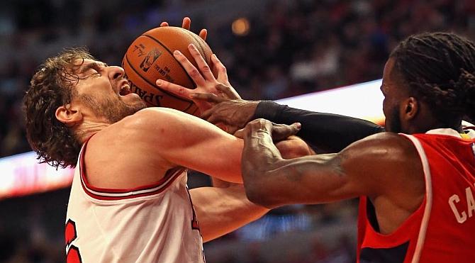 Pau cierra el curso como el 'Don Doble Doble' más veterano de la historia de la NBA