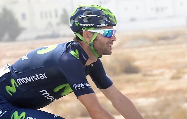 Alejandro Valverde. / Movistar Team