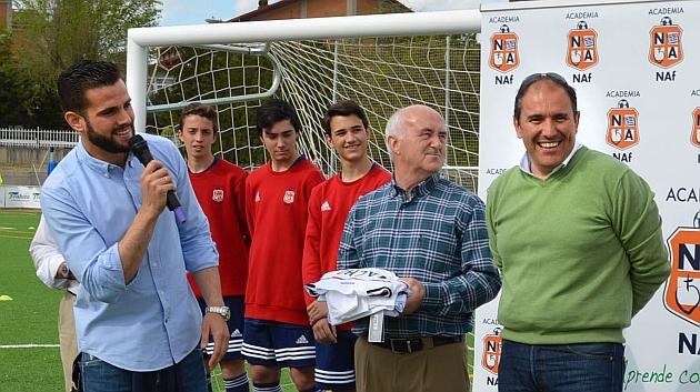 Nacho presenta su academia de fútbol