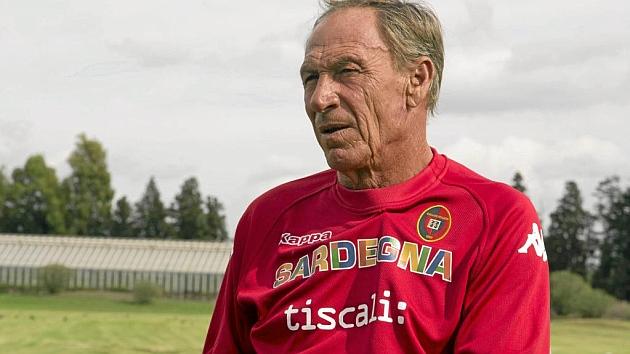 Zeman, en su etapa como entrenador del Cagliari. Foto: Julio Ocampo
