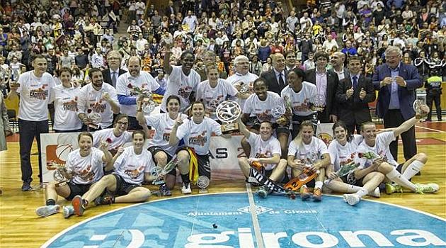 El Girona no despierta de su sueño y ya es campeón