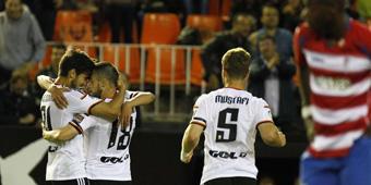 Valencia vs Granada en directo
