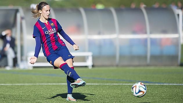 Virginia Torrecilla durante un partido con el Barcelona / FCB