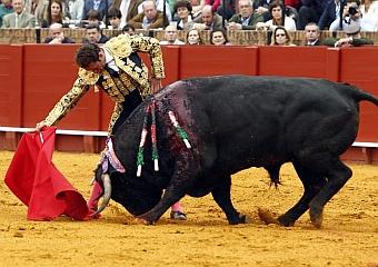 Antonio Ferrera, Victorino y Cuvillo, triunfadores en Sevilla