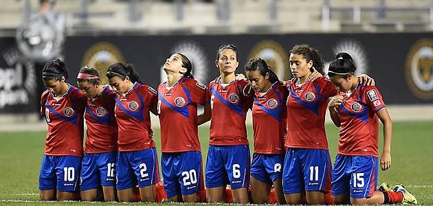 f52f0801e0b7f Las jugadoras de Costa Rica durante un partido de la fase de clasificación    Facebook
