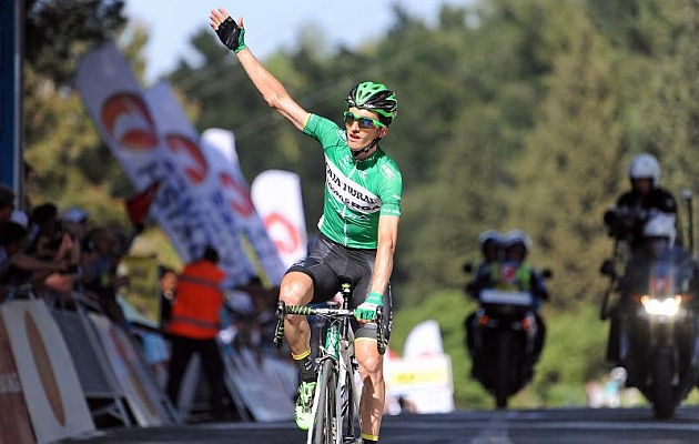 Pello Bilbao, vencedor en Selcuk. / Foto: Tour of Turkey