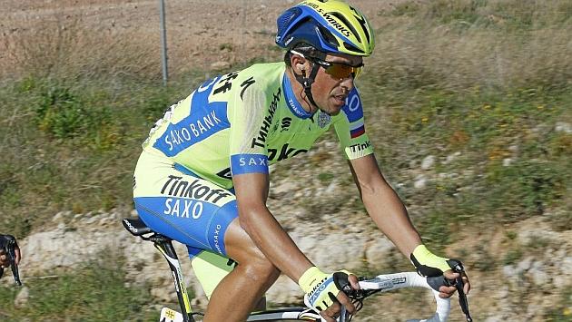 Alberto Contador, durante la Volta a Catalunya. Foto: Rafa Gómez
