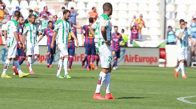 El Córdoba consuma su descenso a la Liga Adelante un año después
