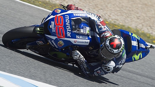 Lorenzo is back with a bang