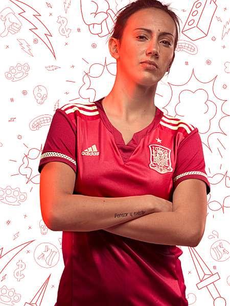 Mundial Fútbol Femenino  Adidas y la RFEF presentan la camiseta para ... bd9cafeeae887