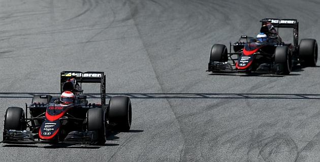 McLaren Honda, menos vueltas que Manor