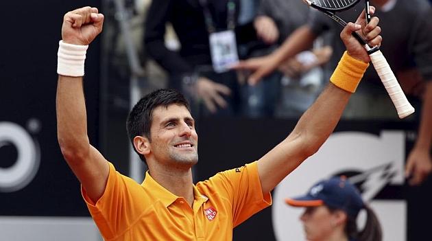 Djokovic y Federer, clásico por el título en Roma