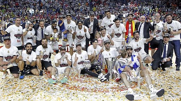 El Madrid gana la Novena en una fiesta del básket