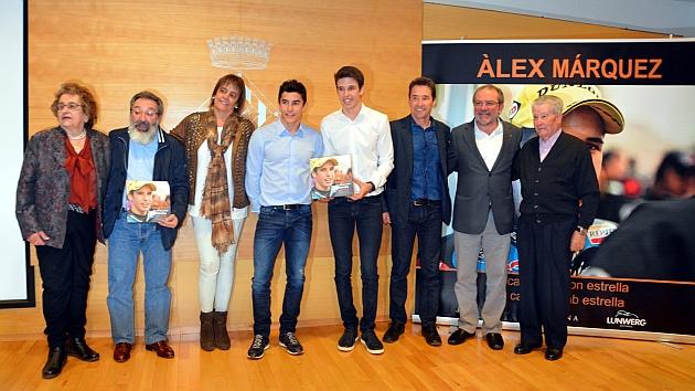 Álex Márquez presenta el libro de su título