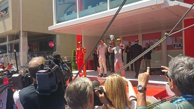 Canamasas sube al podio en Mónaco