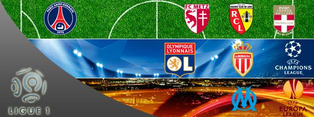 El PSG, Lyon y Mónaco reinan en el bajonazo del Olympique de Marsella