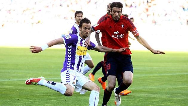 Vujadinovic, en el encuentro ante el Valladolid disputado hace unas jornadas. Foto: César Minguela