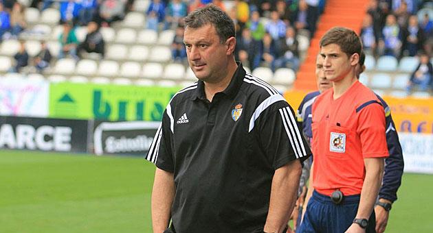 Manolo Díez, entrenador de la Ponferradina / Ana F. Barredo