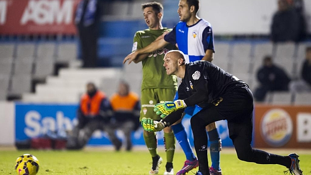 Sabadell y Sporting empataron a 2 en la Nova Creu Alta en enero / Marca