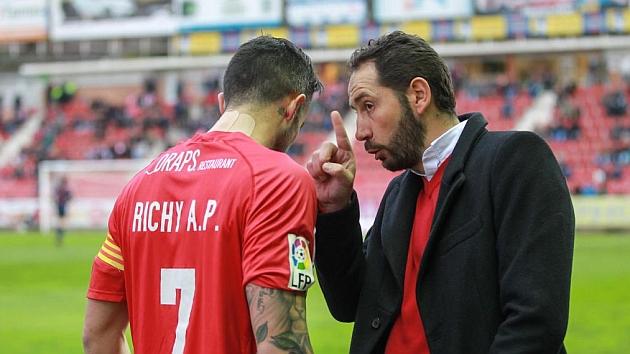 Richy no podrá jugar ante el Lugo. / EDDY KELELE (MARCA)