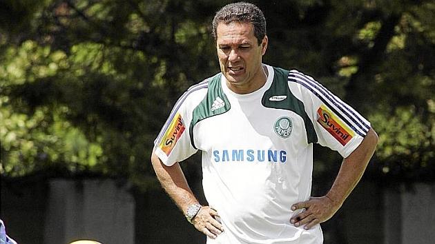 Vanderlei Luxemburgo, en su etapa como técnico del Palmeiras. Foto: Pablo Rey