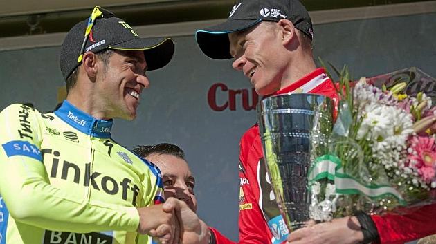 Froome cree que Contador será el rival a batir en el Tour