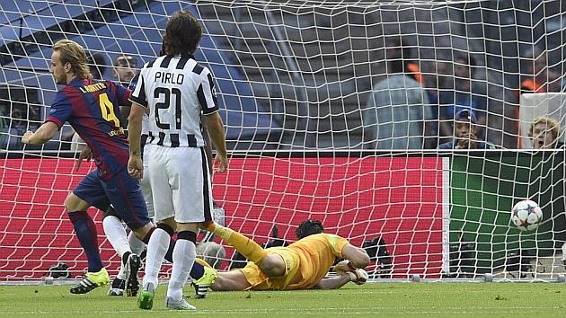 Rakitic scores Barça's fastest goal in Champions League final