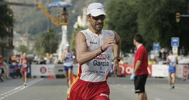 García Bragado en plena competición. Foto: Francesc Adelantado