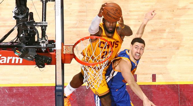 'La Cenicienta' de las Finales NBA propicia el alley-oop celestial de LeBron