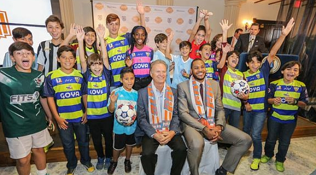 Carmelo Anthony founds Puerto Rico FC