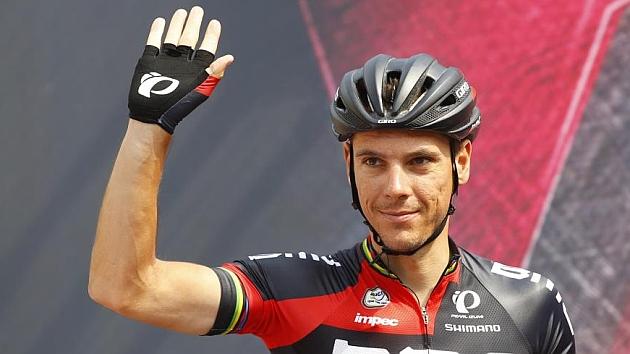 El belga Gilbert será baja en el Tour