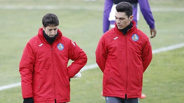 Pablo Franco y Casquero durante un entrenamiento