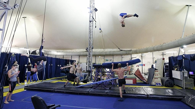 El Circo del Sol, el edén de los gimnastas