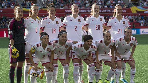 Alineación de España ante Corea del Sur en el Mundial.
