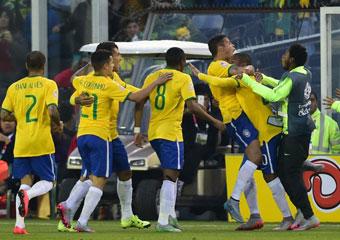 Brasil vs Venezuela en directo