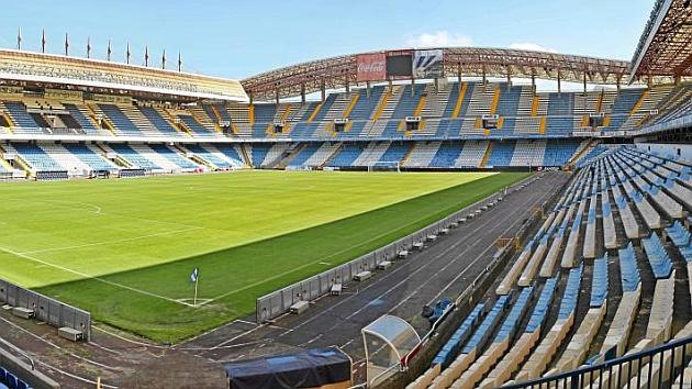 Estadio de Riazor.