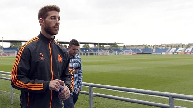 Ramos holds meeting at Valdebebas
